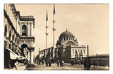 Mosquee et Kiosk - Constantinople Real Photo Postcard c1920