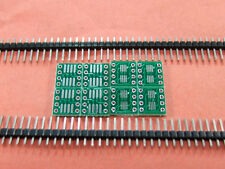 30 Pieces MSOP8 SOIC8 TSSOP8 to DIP8 PCB for OPA2604 OPA627AU AD8610 AD797AN
