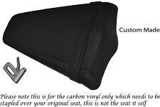 CARBON FIBRE VINYL 08-13 CUSTOM FITS HONDA CB 1000 R REAR PILLION SEAT COVER