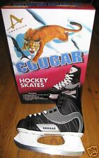 AMERICAN COUGAR BOY'S HOCKEY SKATES-SIZE 1-BRAND NEW