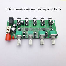 Stereo Audio Signal Mixer Two-way Four-input Mixing for One Way