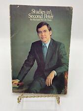 1977 STUDIES IN SECOND PETER Richard W De Haan Victor Book Pre Owned