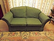 Green Loose Covers for 2 seater settee and cushions.