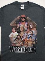 WrestleMania Randy Savage Ultimate Warrior Ric Flair Piper Wrestling WWE T-Shirt