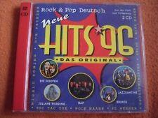 Neue Hits '96-Rock & Pop Deutsch Pur, Bap, Wolf Maahn, Brings, Groovemi.. [2 CD]