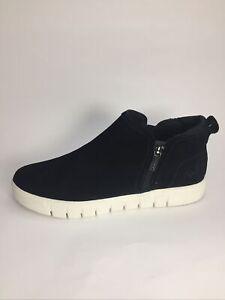 Ryka Hensley Comfort Sneaker Bootie Black Size 8M NEW