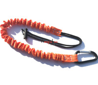 Fall Protection Lanyard Safety Harness Lanyard With Snap Hooks Shock-absorbing