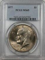 Great Eye Appeal 1973-D Eisenhower Ike Dollar PCGS MS65