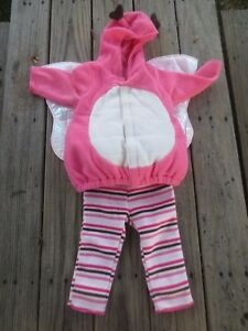 Old Navy ~ Girls Pink Butterfly Halloween Costume ~ Size 12-24 months