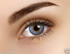 FLASH lentille de couleur ALICE BLUE 30J lens fantaisie bleu contact mensuel