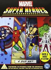 Marvel Super Heroes: Avengers, Thor, Iron Man, Hulk (4-DVD-Set)