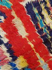 Vintage Moroccan Berber Boucherouite runner rug 167 x 100 cm