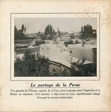 PHOTO PRESSE 1911 - Téhéran Partage de La Perse Russie Angleterre - 239