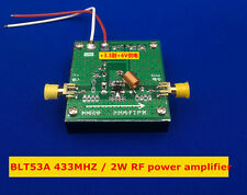 Blt53A 433M 2W power broadband Rf power amplifier high gain with heat sink