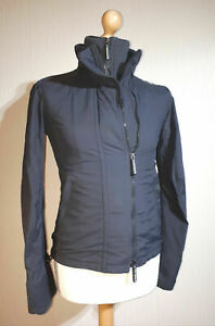 Superdry Japan The Windcheater Jacket with Thumbhole Cuffs Ladies Size M Grey