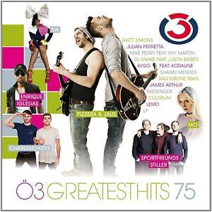 Ö3 GREATEST HITS,VOL.75 CD NEU  SIA/PASSENGER/COLDPLAY/SPORTFREUNDE STILLER//+