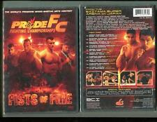 PRIDE FC - FISTS OF FIRE (DVD, 2006) BRAND NEW SEALED - FREE SHIPPING