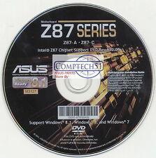 ASUS GENUINE MOTHERBOARD SUPPORT DISK Z87-A REV630.05 M3127