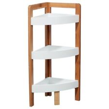 INSTANT D'O, Corner Bathroom Shelf Bamboo - 3 levels