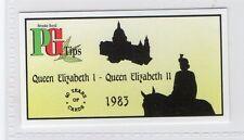 #36 Queen Elizabeth I - Queen Elizabeth II  - 40 Years of Cards (1954-1994) Card