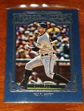 Verzamelingen 2013 Topps Heritage Clubhouse Collection Relics #CCR-BBE Brandon Belt Card
