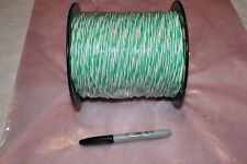 NEW 1000FT 22AWG ROLL MILSPEC SOLID TWISTED PAIR WIRE CABLE