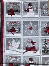 "25 cm Baumwolle Patchwork ""Holida Home Coming""🎄 Weihnachten Christmas ⛄️"