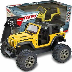 Taiyo RC Truck Jeep Rubicon Remote Control Car