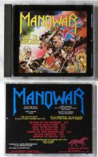 """MANOWAR """"Hail To England"""" .. 1984 USA Manowar CD No Barcode"""