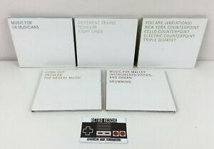 Steve Reich Phases (A Nonesuch Retrospective) Disc 1 2 3 4 5 Album CD Bundle x5