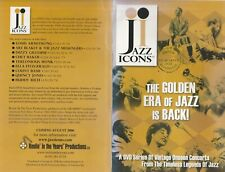 JAZZ ICONS DVD-THE GOLDEN ERA OF JAZZ IS BACK,PREVIEW SAMPLER, 2006