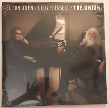 Elton John and Leon Russell - The Union - SEALED 2010 US 1st Press B0015879-01