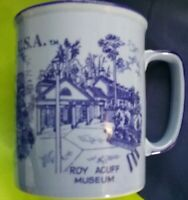 ROY ACUFF MUSEUM MUG OPRYLAND BLUE NATIONAL LIFE HOSPITALITY CENTER MADE JAPAN