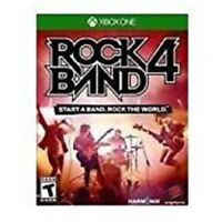 NEW Rock Band 4 (Microsoft Xbox One, 2015) GAME ONLY