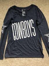 Dallas Cowboys Nike Long Sleeve Women's Top Size Medium
