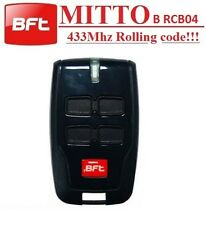 BFT MITTO B RCB04 R1 4 channel remote control. The new version of BFT MITTO4
