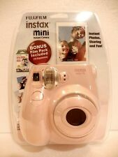 Fujifilm Instax Mini 7S Pink Instant Camera w/Bonus Film pack- NEW Free Shipping