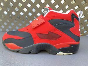Nike Air  'Diamond Turf' 2013  Trainer Red/Black/White (309434-007) Dion Sanders