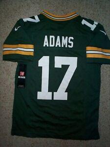 *IRREGULAR* Packers DAVANTE ADAMS nfl NIKE Jersey YOUTH KIDS BOYS (m-med-medium)