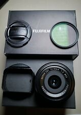 Fujifilm FUJINON XF 18mm f/2 R Aspherical Lens, Boxed with Filter