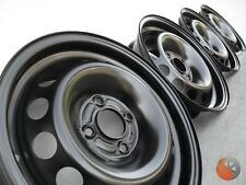 NEU 4x Stahlfelgen Felgen 6x15 ET50 - 4x100 ML60 RENAULT CLIO MODUS