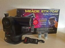 Meade ETX-70 AT f/5 DIGITAL GO-TO TELESCOPE, Autostar Computer Controlled