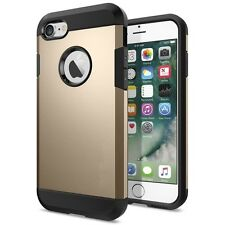 Gold Armor Case for iPhone 8, iPhone 7, iPhone SE 2020, Shock Proof Back Cover