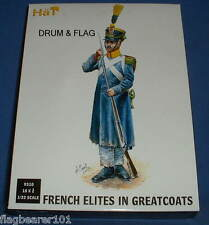 HAT 9310 - FRENCH INFANTRY ELITES IN GREATCOATS. 1/32 SCALE X 18 FIGURES.