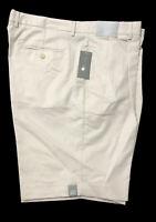Daniel Cremieux Signature Collection Shorts Mens Sz 40 Pleated Khakis $75