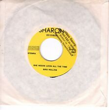 7inch  DANNY THURSTON up and downs / BIRD ROLLINS she needs HOLLAND  ex (S0032)