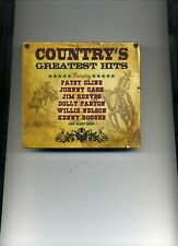 COUNTRY'S GREATEST HITS - JIM REEVES JOHNNY CASH PATSY CLINE - 3 CDS - NEW!!