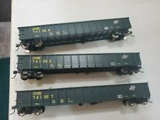 Atlas Chicago & Northwestern Gondolas w/loads (3 Total)(HO)(New)