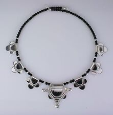 Sterling silver Tuareg necklace.  Handmade   African  Tribal  Ethnic