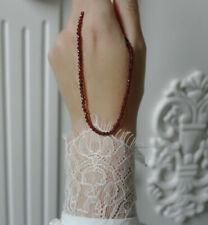 Echte Edelstein-Halsketten & -Anhänger im Collier-Stil mit Granate für Damen